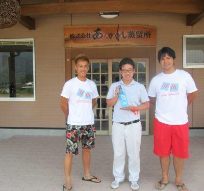 全日本医科歯科学生サーフィン選手権大会の実行委員がご来蔵