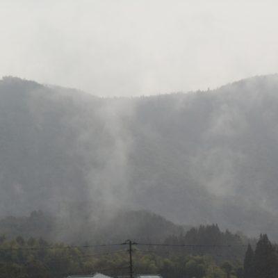 雨上がりの東郷町