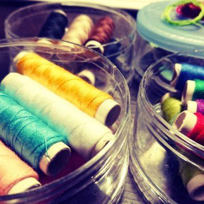 趣味の話 part.06『筆と糸』
