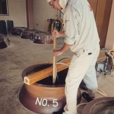 五穀焼酎製造4~10日目 ~櫂入れ編~