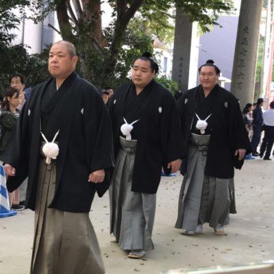 【博多秋博2019】横綱奉納土俵入り