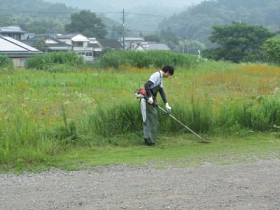 草刈り実施☆